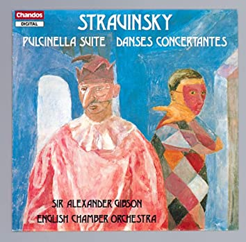 Stravinsky: Pulcinella Suite & Danses Concertantes