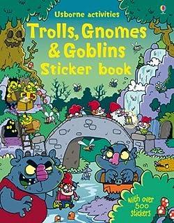 Trolls Gnomes Goblins Sticker Books
