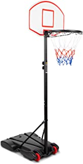 ROSEBEAR 150CM Basketball Stand System Hoop Backboard Net Kit f/ür Kinder H/öhenverstellbar