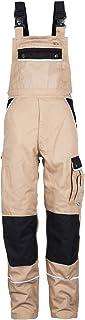 TMG® Peto Hombre Pantalones de Trabajo De Resistente Tallas   con Bolsillos para Rodillera Monos de Trabajo para Hombre