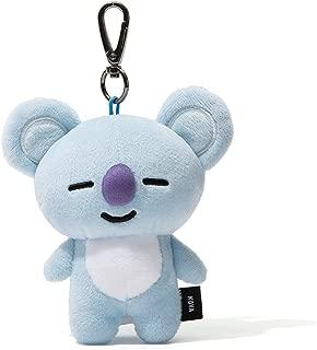BT21 Official Merchandise by Line Friends - KOYA Character Doll Keychain Ring Cute Handbag Accessories