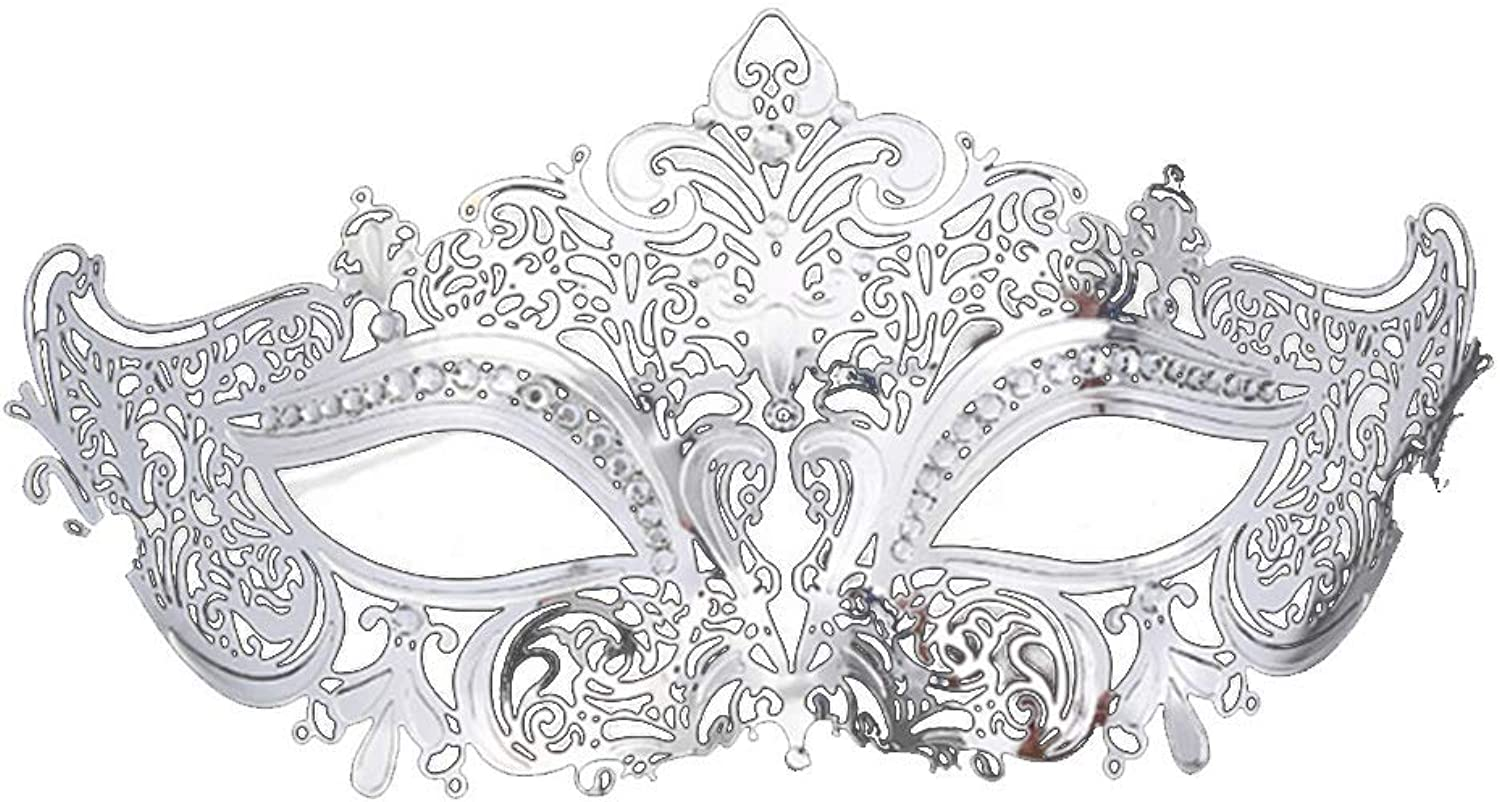 Venetian Couple Masquerade Halloween Costume Mask Suitable for All Kinds of Dance
