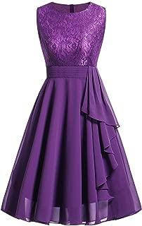 Wedding Bridesmaid Dress for Womens Sleeveless Lace Long Dress Formal Ladies