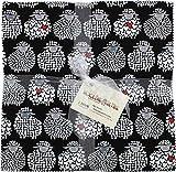 Benartex WOOL EWE BE MINE 10-inch Precut Squares Cotton Fabric Quilting Assortment Layer Cake Maria Kalinowski WOL10PK