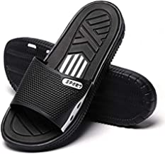 HAOJIALI Bathroom Slippers Shower Shoes Mens Non-Slip Bath Sandals House Soft Quick Drying Beach Shoes