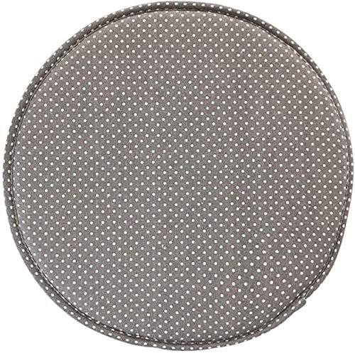 Round Soft Sponge Linen Chair Bar Stool Cushion Pad 13inch 915 (Color : G)