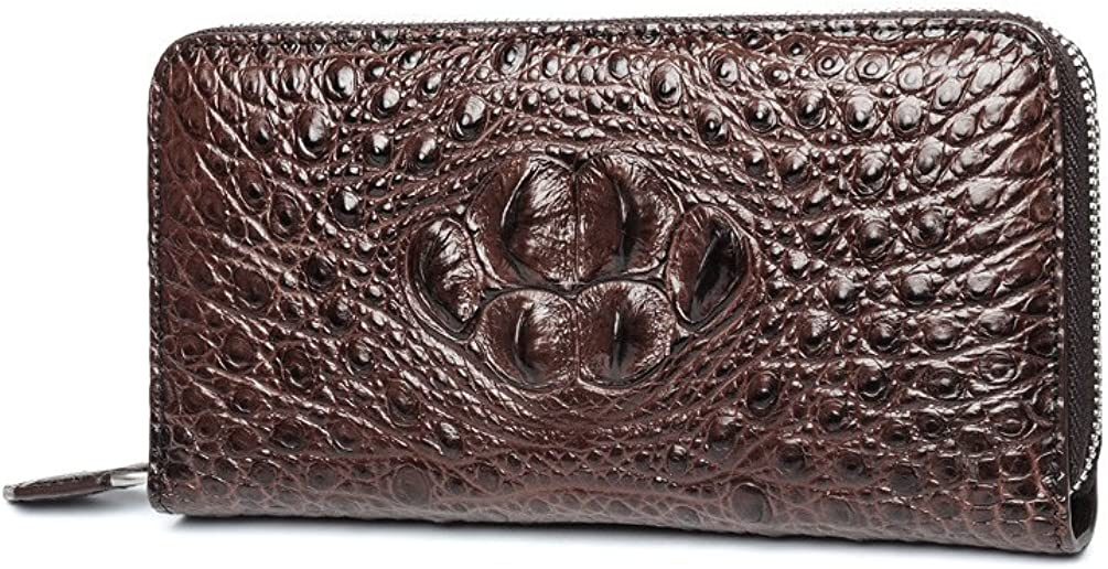 Crocodile Max 89% OFF free shipping leather clutch Leather Wallet Skin