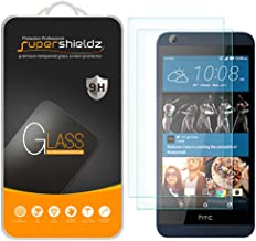 (2 Pack) Supershieldz for HTC Desire 626 and Desire 626s Tempered Glass Screen Protector, Anti Scratch, Bubble Free