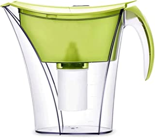 Adesign Alkaline Water Jug Long-Life Filters Alkaline Water Filter Purifier Water Filtration Pitcher System High PH Ionize...