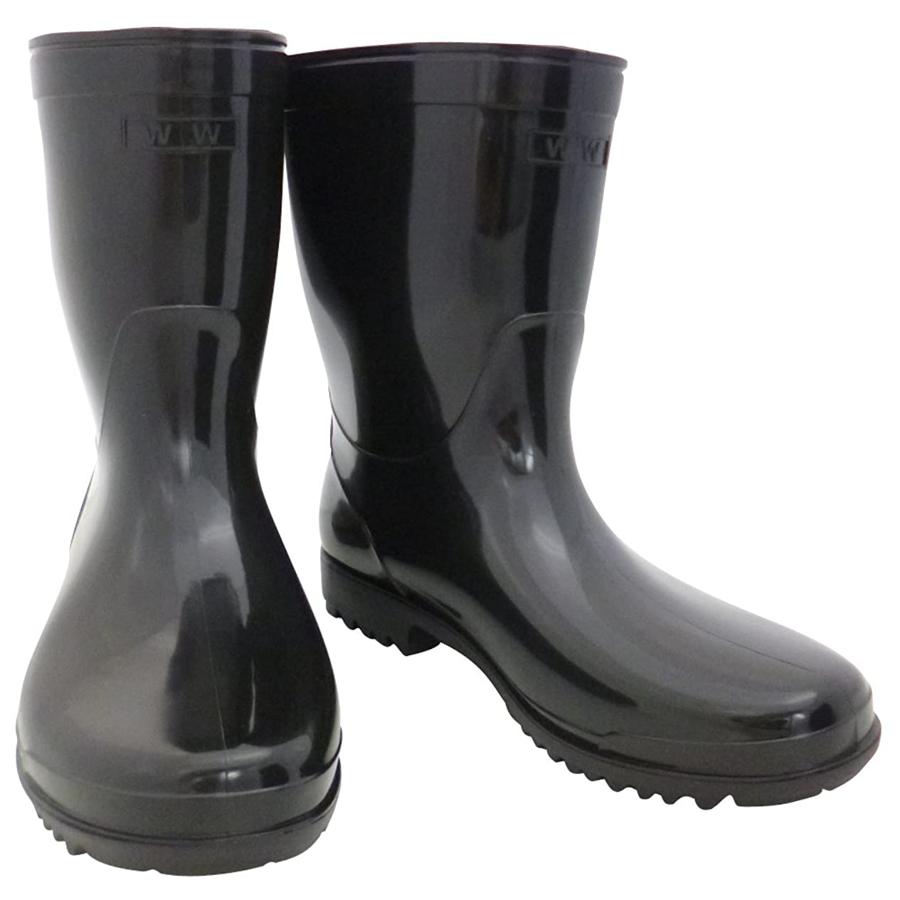 ディスコオーナー環境おたふく手袋 作業半長靴 28.0cm WW-724