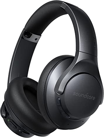 Soundcore by Anker Life Q20 Active Noise Cancelling Headphones 40H Playtime HiRes Audio Soundcore App Connect to 2 Devices Memory Foam Earcups Bluetoo at Kapruka Online for specialGifts