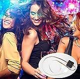 Yeyo LED Eyelashes Waterproof LED Light Eyelash Shining Eyeliner Charming Unique Eyelid Tape for Party Bar Nightclub Concerts Gift Halloween Day (Green)