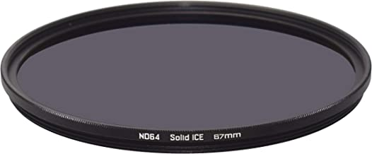 Solid ICE Shockproof 67mm ND64 Filter Neutral Density ND 6 Stop Tempered Optical Glass