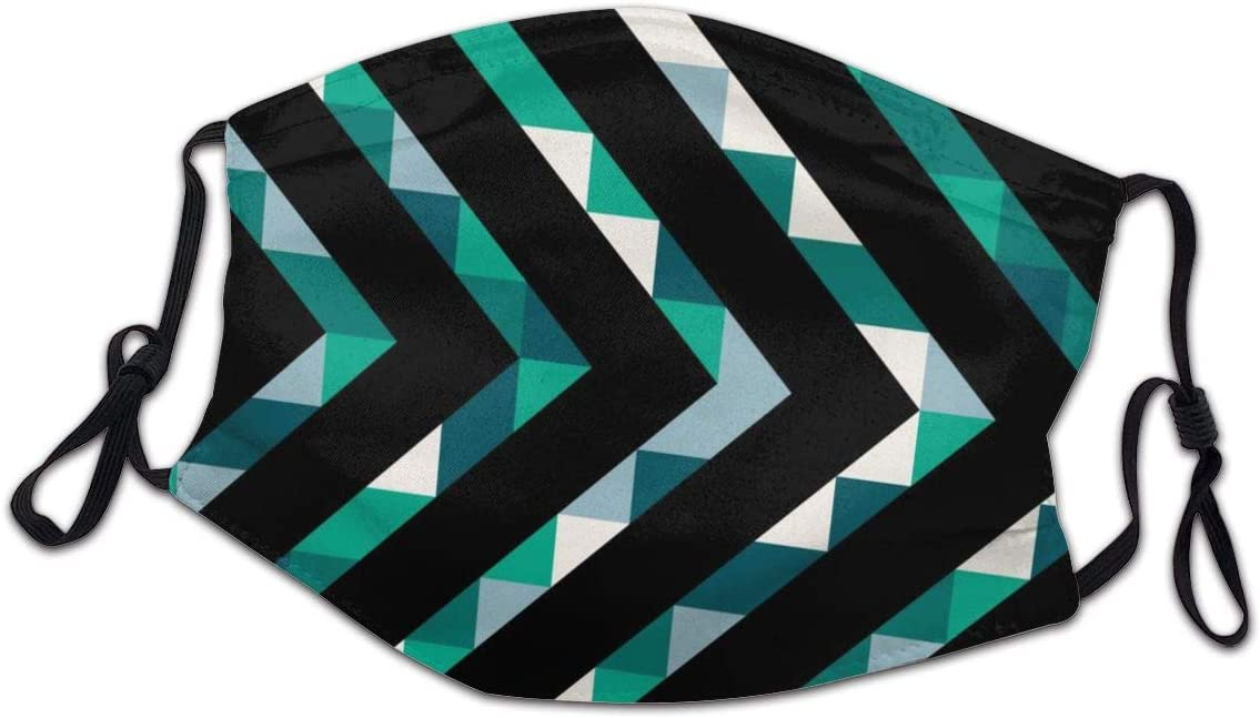 Sales for sale Lcokin Child Polyester Material Washable Abstract Mask Geometric Our shop OFFers the best service