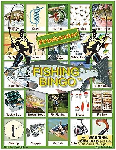 mejor moda Freshwater Fishing Fishing Fishing Bingo by Lucy Hammett Games  ventas en linea