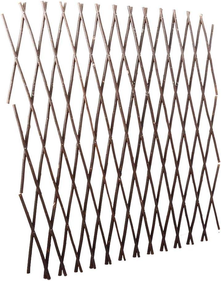 Cl/ôture artificielle r/étractable pour balcons murs et autres endroits fen/êtres escaliers Dehongwang Cl/ôture /à treillis extensible de 40 cm cours