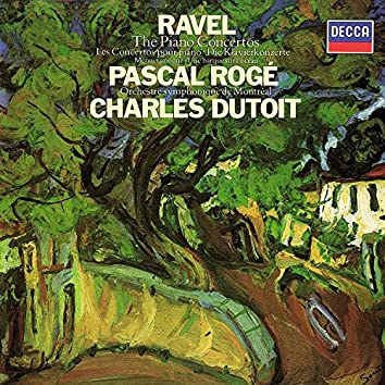Ravel: Piano Concertos; Une barque sur l'océan; Fanfare; Menuet antique