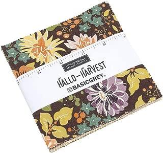 Moda Fabrics Hallo Harvest Charm Pack 42 5-inch Squares 30600PP