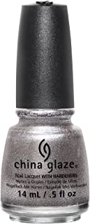 China Glaze The Great Outdoors Nail Lacquer, Check Out The Silver Fox, 0.5 Fluid Ounce