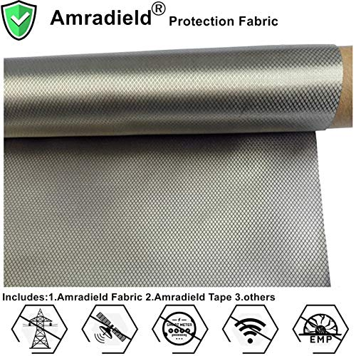 Earthing Grounding Anti-Radiation EMF RF Shielding Fabric Conductive Electrode Ni+Cu 39'x43'