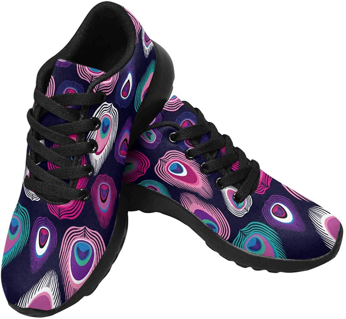 InterestPrint Womens 正規品 Running 直営店 Sneakers Breathable Lightweight Ath