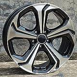 Llanta de Cubo de Rueda de fundición de Aluminio Negro Mate de 18 Pulgadas para Honda Accord, CR-V, Civic, Jade, VEZEL