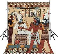HD 7x10ft古代エジプトの壁画の背景古代エジプトのヴィンテージの壁の壁画の写真の背景歴史文化の写真の背景の写真スタジオの小道具LYZY02109