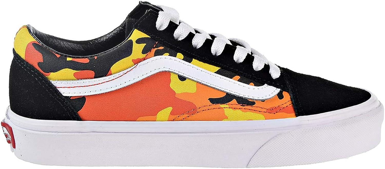 Vans Unisex Sneakers POP CAMO Old Skool in Black Canvas VN0A38G1RK3