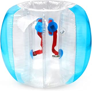 Pellor Inflatable Bumper Ball Bubble, 3.6FT Soccer Bumper Ball, Safety and Durable Kids Adults Indoor Outdoor Play Fun Games