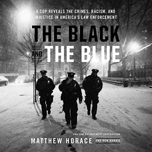 The Black and the Blue audiobook cover art