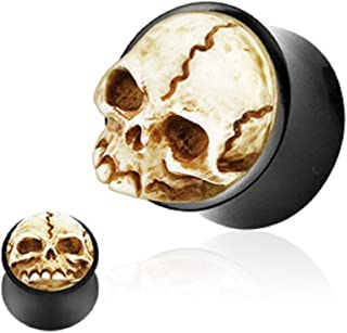 hand carved plugs