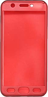 360 Degree Protection Set of 3 Cover for Oppo A57 - Red