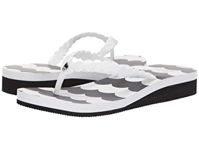 Kate Spade New York Mare (White Shiny Jelly) Women