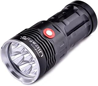 f348c8b1f CursOnline® Super Linterna UltraFire Profesional con 7 LED CREE XML T6 8000  Lumens