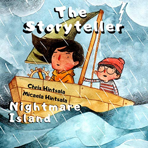 The Storyteller: Nightmare Island audiobook cover art