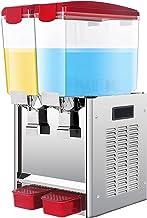 CLING Kommersiell kallvärme dryckesdispenser rostfritt stål fruktjuice is te dryck automater dubbel temperatur för restaur...