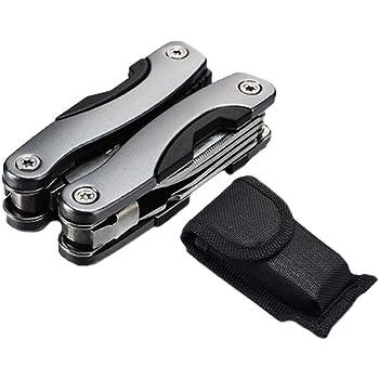アウトドア マルチツール ペンチ ナイフ プライヤー ツール+ドライバー+ペンチ+ナイフセット 折り畳み