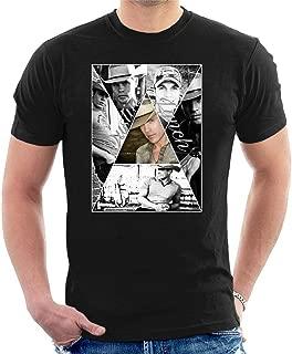 Men's Dustin Lynch Art Black T-Shirt Classic Cool Tee