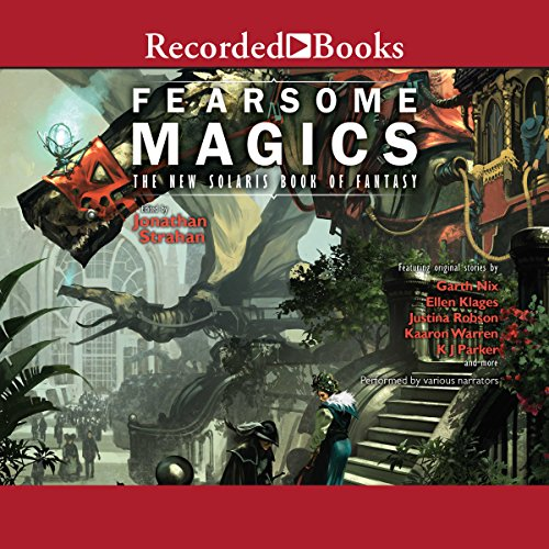 Fearsome Magics audiobook cover art