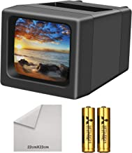 LED Lighted Illuminated 35mm Slide Viewer(2AA Batteries Included)