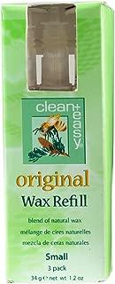 Clean + Easy Original Small Face Wax Refills, 1.2 Ounce