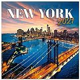 ERIK - Calendario de pared 2021 Nueva York, 30x30 cm