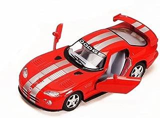 Dodge Viper GTS-R, Red - Kinsmart 5039D - 1/36 scale Diecast Model Toy Car