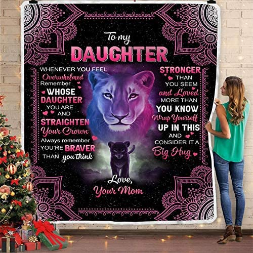 to My Daughter from mom Prints a Little Black with Cheap mail order specialty store Big Li Lion Ranking TOP12