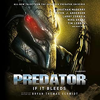 Predator: If It Bleeds audiobook cover art