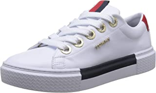 Tommy Hilfiger LEATHER ELEVATED TOMMY, Women's Sneakers, White