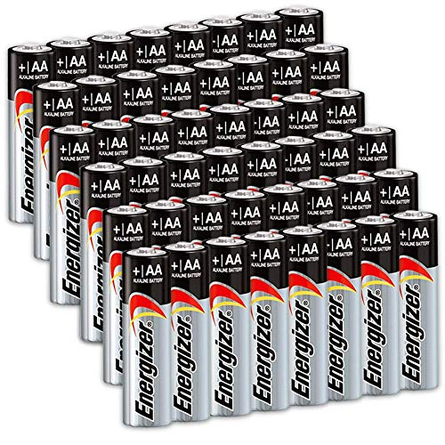 Energizer AA Batteries 48 Count, Multi Purpose Double A Battery Max Alkaline, Long Lasting, Leak Resistant, The Perfect Choice of Power for All AA Battery Operated Devices