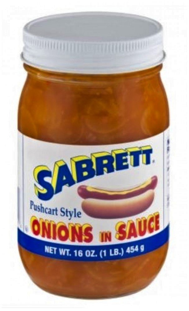 Sabrett Luxury Onions in Sauce 16 Sales results No. 1 Pack 4 Oz.