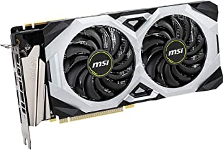 MSI Gaming GeForce RTX 2070 Super 8GB GDRR6 256-bit HDMI/DP NVLink Torx Fan Turing Architecture Overclocked Graphics Card ...