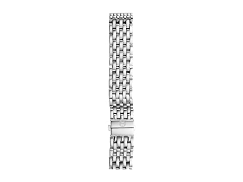 Michele 16mm Deco 16 7-Link Bracelet Silver/Steel
